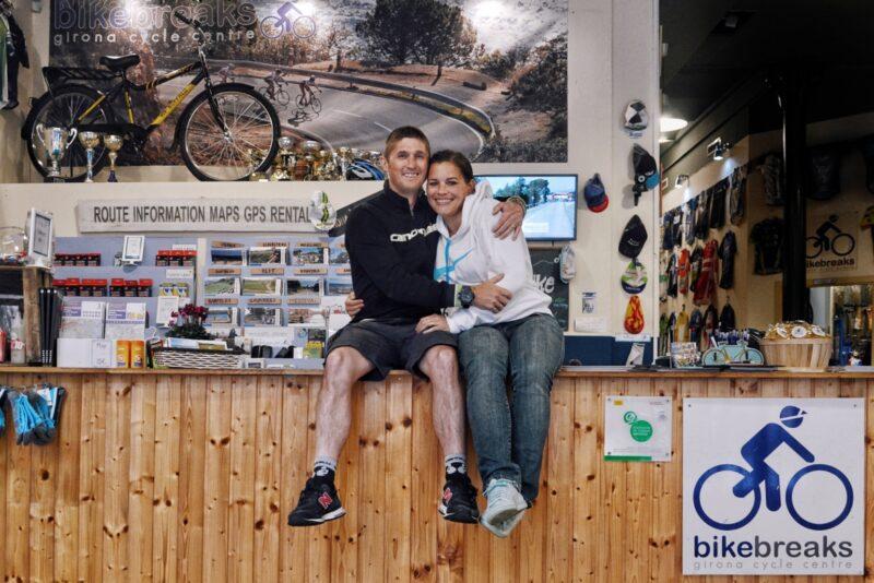 Dave and Saskia from Bike Breaks. ©veloccino