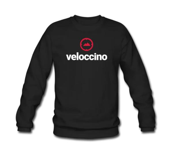 veloccino black jumper